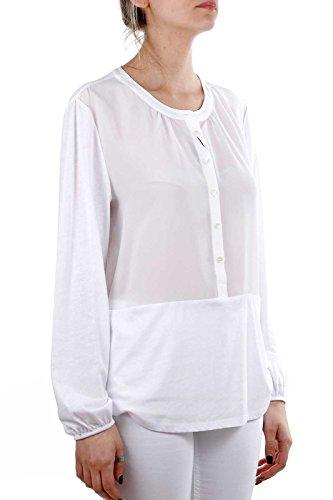 Bianco Silk Jersey Ns90 Blusa Wwcam0655 Shirt Woolrich Donna 50dqx6wt0F