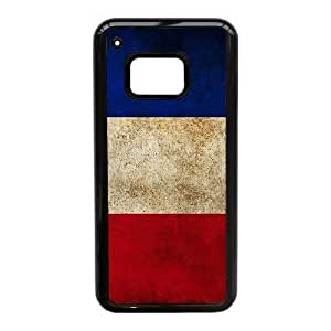 Popular And Durable Designed TPU Case With French flag_010 For HTC One M9 Cell Phone White Cover