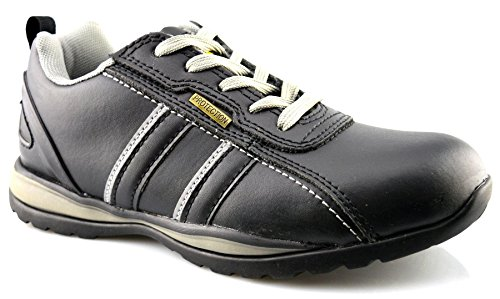 Grafters Women's Leather Uniform Dress Shoes 7 Black Leather by Grafters