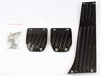 Juego de pedales carbono cambio manual E30 E36 E90 E92 E46 E82 E88 E85 E86 E89 Z3 Z4: Amazon.es: Coche y moto