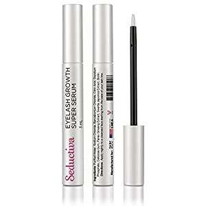 SkinPro Eyelash Growth Super Serum | The Fastest Way To Lengthen Eyelashes | Top Rated Seductiva Brand