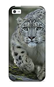 Top Quality Rugged Snow Leopard Case Cover For Iphone 5c