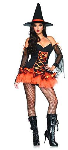[Adult-Costume Hocus Pocus Sm-Md Halloween Costume - Adult Small-Medium] (Hocus Pocus Halloween Costumes)
