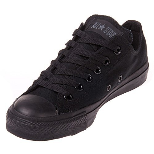 Converse Unisex Chuck Taylor All Star Ox Basketball Shoe (11 B(M) US Women / 9 D(M) US Men, Black Monochrome)