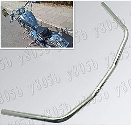 "1/"" Drag Z Bar Handlebar For Honda Shadow VT ACE Aero Sabre Spirit VLX 600 750"