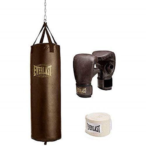 - Everlast Traditional Heavy Bag kit (100)