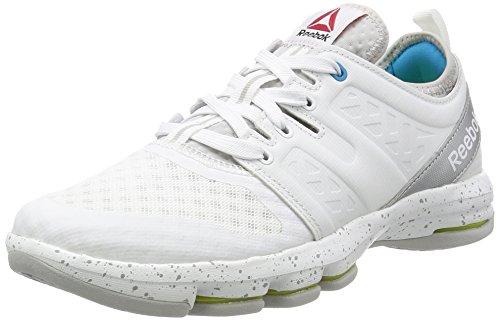 Reebok Cloudride Dmx - Zapatillas de senderismo Mujer Blanco  (White / Steel / Wild Blue / Silver Met)