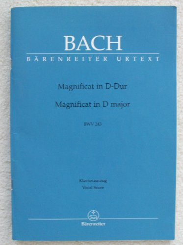 Magnificat in D-dur / Magnificat in D Major: BWV 243