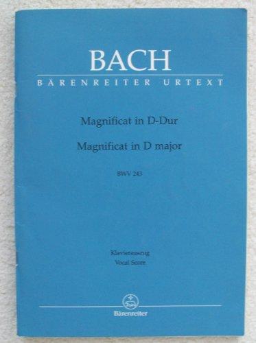 Magnificat in D-dur / Magnificat in D Major: BWV 243