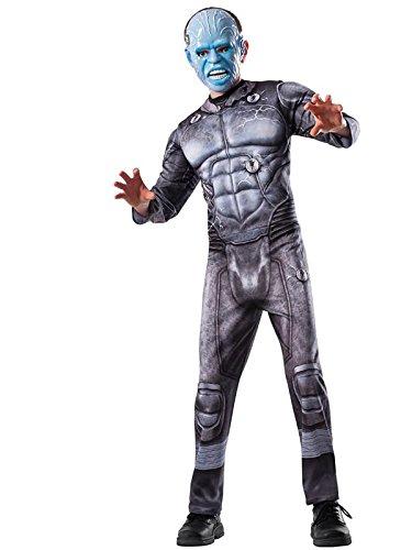 The Amazing Spider-man 2, Electro Deluxe Costume, Child (The Amazing Spider Man 2 Electro Costume)