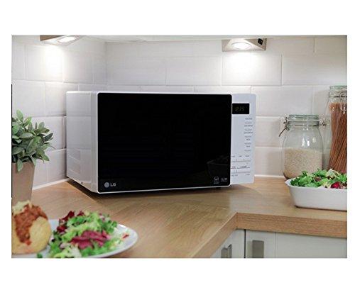 LG MS2354JAS Encimera 23L 800W Blanco - Microondas (Encimera, 23 L ...