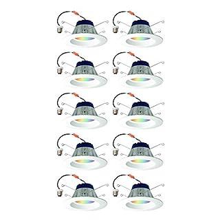 Sylvania Lightify 65W LED Smart Home 2700-6500K Color/White Light Bulb (10 Pack)
