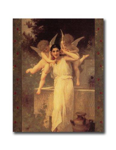 - Victorian Lady Cherub Angel L Innocence Wall Picture 8x10 Art Print