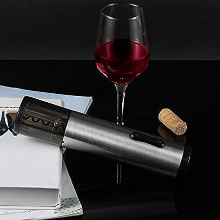 AILY Recargable eléctrico abridor de Vino con la lámina cortadora y Cable USB, con tecnología sin Cable de la batería Recargable de la Botella automática del sacacorchos