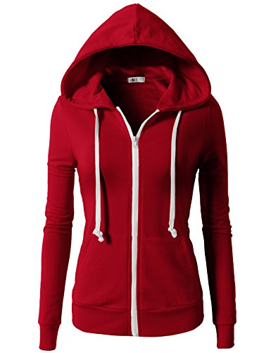 [해외]H2H Womens 액티브 일반 맞추기 긴 소매 까마귀 자 켓/H2H Womens Active Regular Fit Zip up Long Sleeve Hoodie Jacket