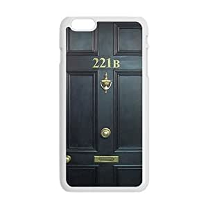 221B Door Cell Phone Case for iphone 6 plus