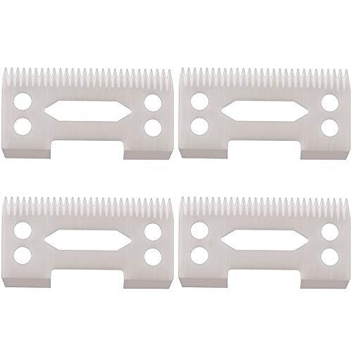 Leinuosen 4 Pieces Ceramic Cutter Blade Ceramic Replacement Cutter Ceramic Clipper Blade Replacement Cutter 2-Hole Clipper