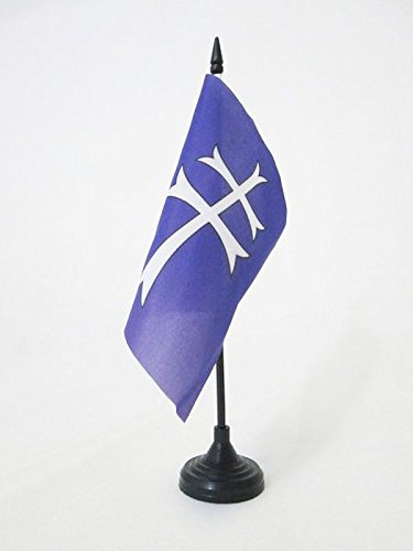 AZ FLAG Bandera de Mesa de la COFRADÍA ESPÍRITU Santo 15x15cm ...