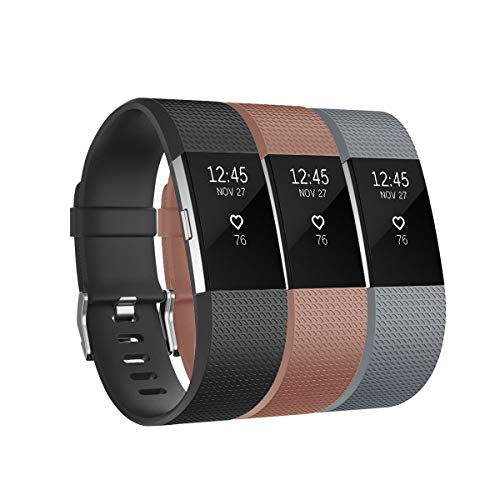 "Fitbit Charge 2 Band Replacement Accessory Durable Sport Wristband 6.7/""-8.1/"" NEW"