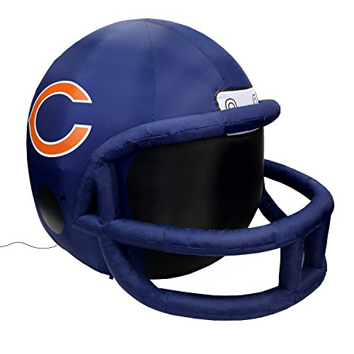 NFL Chicago Bears Team Inflatable Lawn Helmet, Navy, One Size