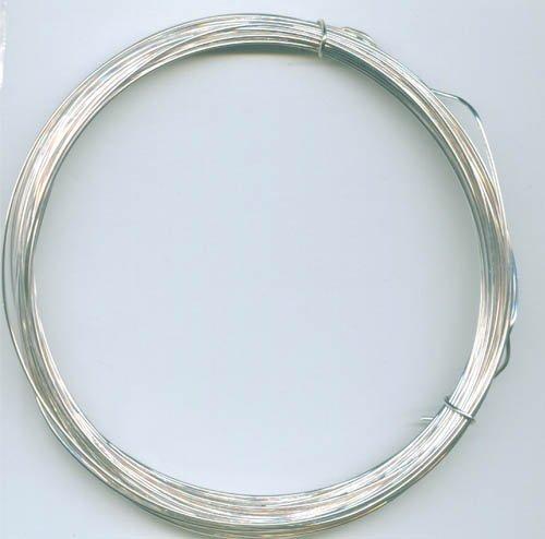 18 Gauge Sterling Silver Dead Soft Round Wire - 5 Feet _ From (Soft Round Sterling Silver Wire)