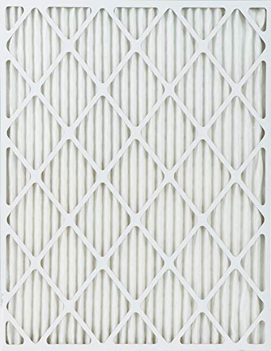 Accumulair Platinum 17x17x1 6 pack MERV 11 Air Filter//Furnace Filters Actual Size