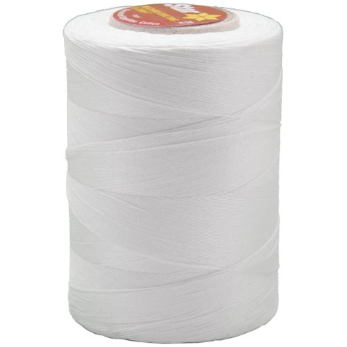 Coats: Thread & Zippers V37-001 Star Mercerized Cotton Thread Solids 1200 Yards-White ()