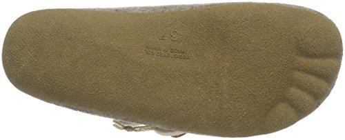 Manitu womens Textile slippers Beige U0xcEn6W9O