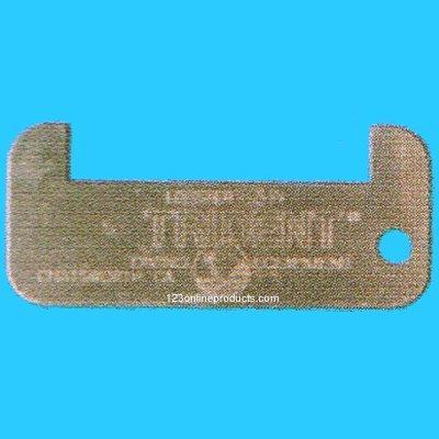 Trident Metal 3 1/4 in. Lobster Gauge ()