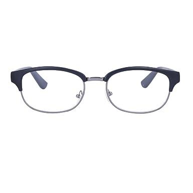 3eae90a95b9b Hzjundasi Men and women Reading glasses Vintage Retro Classic Half Frame  Horn Rimmed eyewear  Amazon.co.uk  Clothing