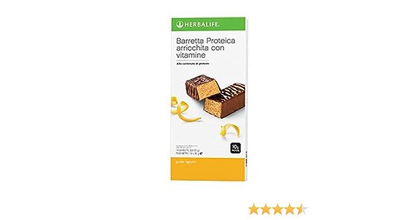 Herbalife Protein Bars - Citrus Lemon (14 Bars per box) - 490g