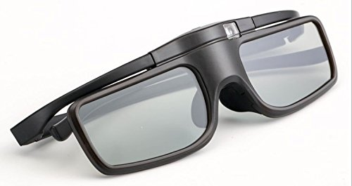 3DTV Corp Lightest RF/Bluetooth Rechargeable 3D Glasses for 3D Epson projectors Replacement of Epson model V12H548006 and ELPGS03 RF 3D Glasses ()