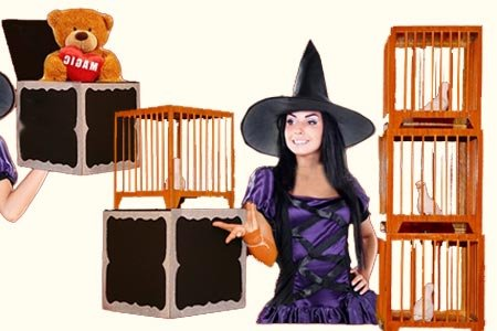Everything to 4 Dove Cages by Tora Magic