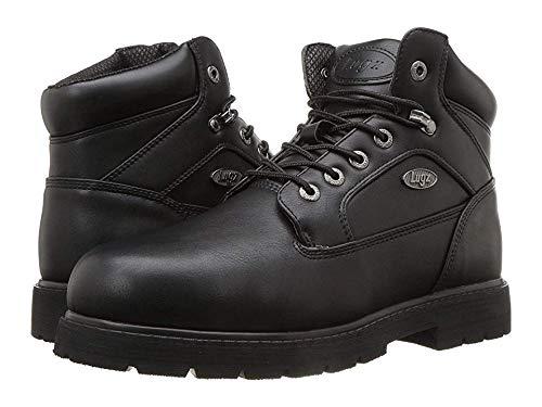 Lugz Men's Mortar Mid Steel Toe Chukka Boot Black 9 D US ()