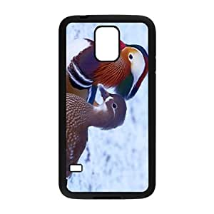 Mandarin Duck In Snow DayHigh Quality Plastic Case for Samsung Galaxy S5 by Maris's Diary