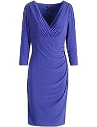 23b11b3be3d Polo Ralph Lauren Womens Lauren Ralph Lauren Wear to Work Dress Purple 12