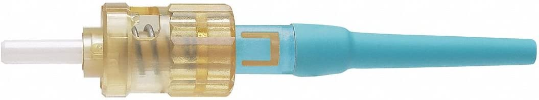 for 900um Tight-Buffered Fiber Panduit Opticam ST Simplex 10Gig OM3//OM4 Multimode 50 Fiber Optic Connector FSTMCXAQ