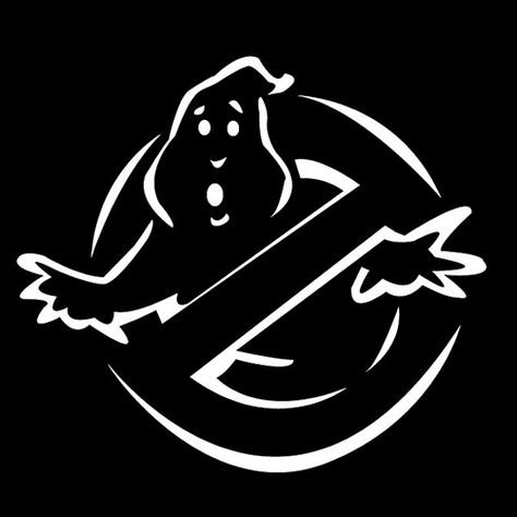 Ghostbusters Decal Vinyl Sticker|Cars Trucks Vans Walls Laptop| White |5.5 x 5 in|LLI228 (How To Make Ghostbuster Costume)