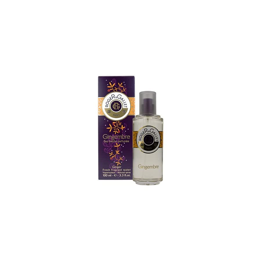 Gingembre (Ginger) by Roger & Gallet 3.3 oz Fresh Fragrant Water Spray
