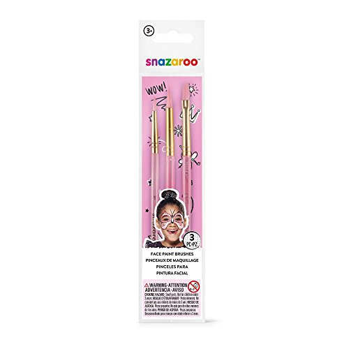 Snazaroo 3 Pack Fun Brush Set - Girls ()