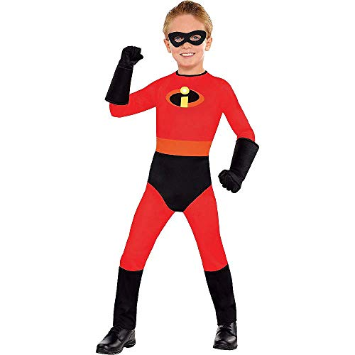 HalloCostume Boys Dash Costume – The Incredibles Compatible with Incredibles Themes
