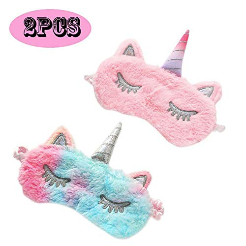 ASPORITNG Unicorn Sleeping Mask%EF%BC%8C2Pack Blindfold Unicorn product image