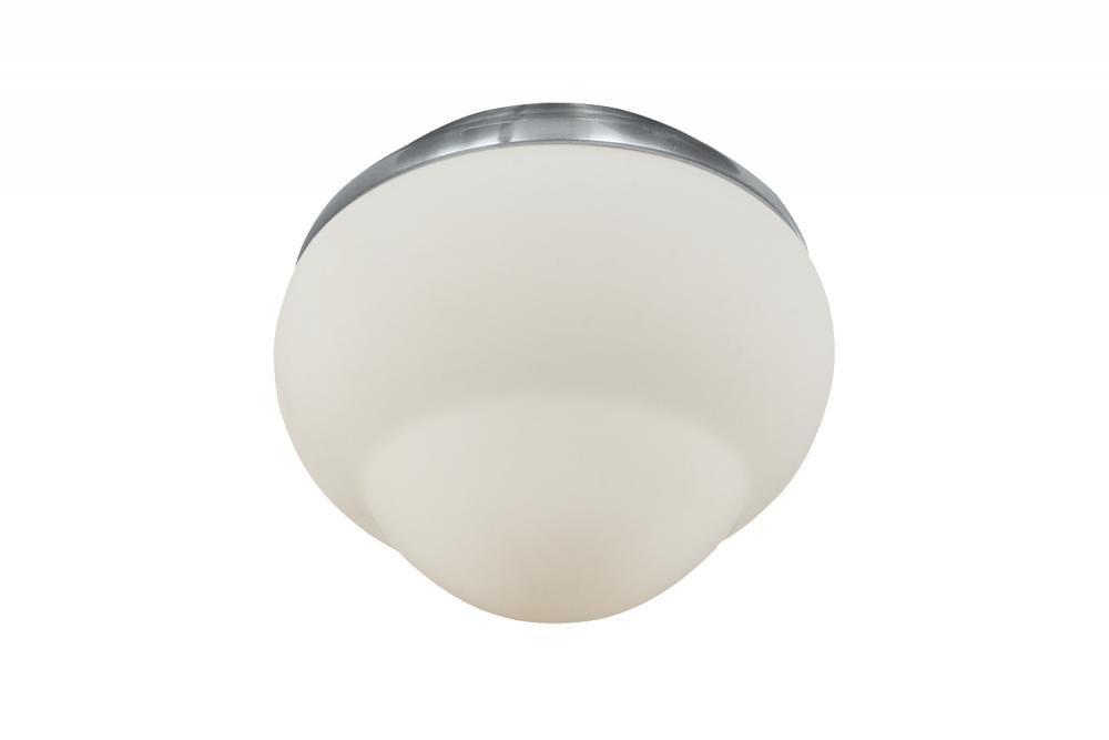 One Light Steel Fan Light Kit MC214BS
