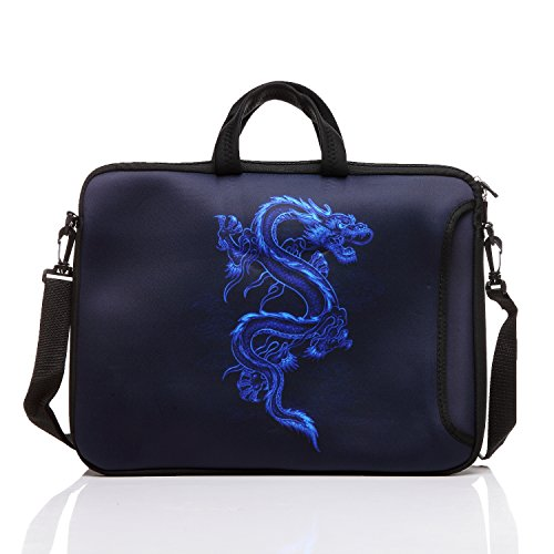15-Inch to 15.6-Inch Neoprene Laptop Shoulder Messenger Bag