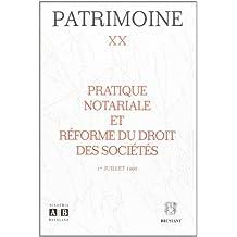 Pratique notariale et reforme du droit des societes 1er juillet 1996