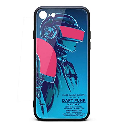Daft-Punk-Discovery-Tour-Poster- iPhone 7/8 Case Personalised Accessories Cell Case for iPhone 7 iPhone 8