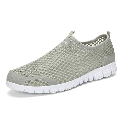 Pictures of LEADERICA Men's Lightweight Aqua Water Shoes Variation 5
