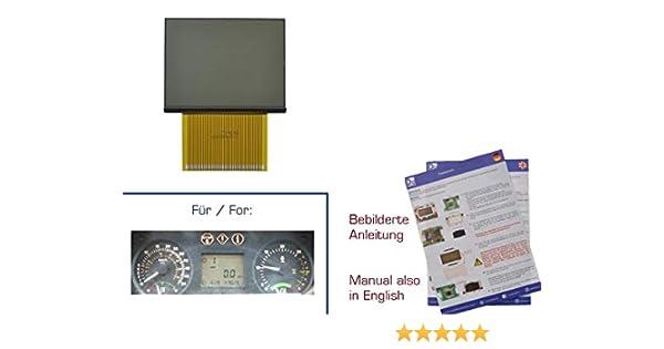 gearworks - Pantalla para John Deere 6010 Trecker Instrumentenbrett/Traktormeter Reparación: Amazon.es: Coche y moto