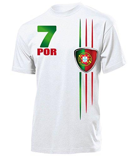 FUSSBALL - PORTUGAL FANSHIRT 3215(H) Gr. M