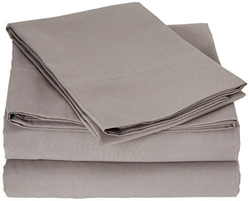 Truly Soft Sheet Sets for Everyday Use Grey Full Sheet